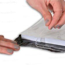 Enveloppes plastiques blanches opaques - 8 formats au choix - lots de 10 à 1000