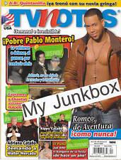TV notas revista magazine Marzo 11 2008 TVNotas Romeo