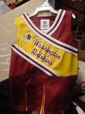 Adorable  NFL  Washington Redskins  Baby Cheerleader Dress NEW  12M 18M 2T 4T
