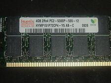 Hynix HYMP151P72CP4-Y5-AB-C   4GB 2RX4 PC2-5300P 667MHZ ECC Server Memory