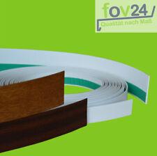 Abdeckleiste Fensterleiste Kunststoffleiste Fensterleisten Weiß und in Dekor