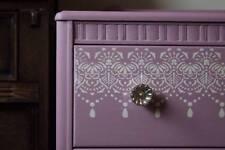Border Lace Stencil Template Vintage Shabby Chic Wedding Cake Furniture Art LA38