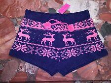 NWT Betsey Johnson Shorts Fuzzy Socks Sleep Lounge Pajamas Women's