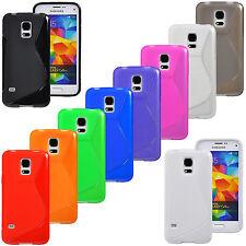 Samsung Galaxy S5 mini G800 TPU Silikon Case Schutz Cover Schale Hülle Tasche