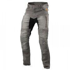 Trilobite Parado Motorrad Jeanshose Slim-Fit Herren hellgrau