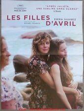 LES FILLES D'AVRIL Affiche Cinéma Originale French Movie Poster Michel Franco