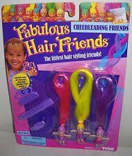 #3945 NRFC Vintage TYCO Fabulous Hair Friends Cheerleading Friends Dolls