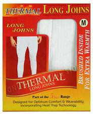 NUOVI Pantaloncini Uomo Termico Mutandoni Pantaloni/Taglia, S S M L XL 2XL (caldo inverno)