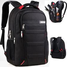 2017 Mens Waterproof 15'' 16'' 17'' Laptop Bag Backpack Travel Hiking School Bag