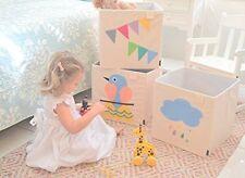 Kids Storage Bin Toys Books Cube Organizer Box