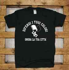 Difendi i tuoi colori Ultras Maglia J389 Tshirt Support your local Team Città