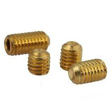 Solid Brass Grub Screw Cup Point Hex Socket Set Screws GB/T M3 x 3mm-12mm