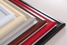 Living Holz Bilderrahmen in 10x15 cm bis 40x60 cm 6 Farben Foto Rahmen