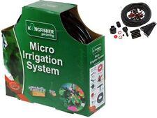 NEW MICRO IRRIGATION SYSTEM HANGING BASKET WATERING KIT SET GREENHOUSE GARDEN UK