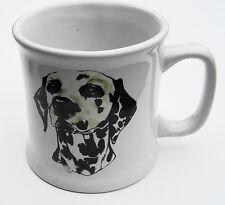 Dalmatian Mug 4 Inch Height & Diameter No Maker Marks Pre-Owned No Box     (813)