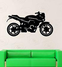 Wall Decal Motorcycle Racing Sport Boys Kids Room Vinyl Stickers (ig2618)