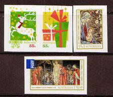 AUSTRALIA 2012 CHRISTMAS SET OF 4 SELF ADHESIVE UNMOUNTED MINT, MNH