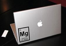 MAGNESIUM PERIODIC ELEMENT SCIENCE MACBOOK CAR TABLET VINYL DECAL