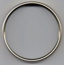 Clock dial bezels, polished light gold, OD 56 - 159mm
