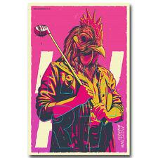 Hotline Miami Game Art Silk Poster Prints Home Wall Decor 12x18 24x36inch