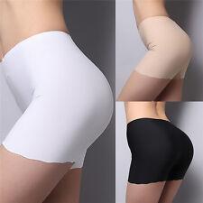 Fashion Summer Women Seamless Safety Shorts Hot Leggings Pants Button Free Size