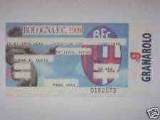 BOLOGNA NATIONAL BUCAREST ROMANIA BIGLIETTO TICKET 9899