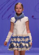 MISS BLUMARINE Girls Floral Tulle Dress BNWT