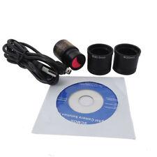 5 MP HD USB Mikroskop Digital elektronische Okular CMOS-Kamera mit Ring-Adapter