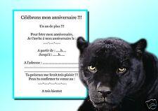 5 o 12 invitaciones de cumpleaños REF 970
