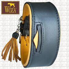WOZA Premium Windhund Halsband Vollleder Soft Rindnappa Greyhound Collar G21267