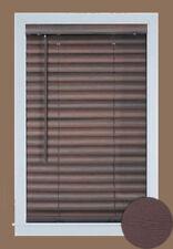 "Achim Home Furnishing Cordless Gii Luna 2"" Slat Venetian Window Blinds, Mahogany"
