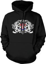 Croatia Heraldic Lions Croatian Pride Hrvatska Zastava Ponosa Hoodie Pullover