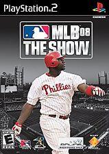 MLB 08: The Show Sony PlayStation 2 Game PS2 Baseball 2008 Ships Free!!