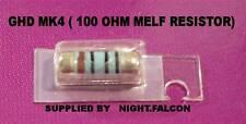 4 X GHD MK4 REPLACEMENT 100 OHM RESISTORS REPAIR SPARES