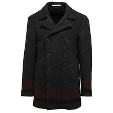 0506V cappotto uomo AGLINI ANDY black/bordeaux jacket coat men