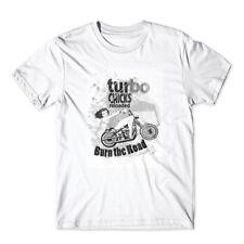 Turbo Chicks T-Shirt. Motorcycle Shirt 100% Cotton Premium Tee New