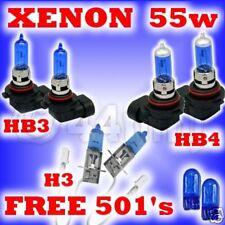 55w XENON HEADLIGHT BULBS Toyota Supra 93-99 HB3HB4H3