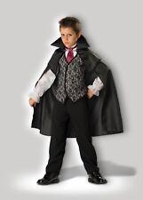 InCharacter Midnight Vampire Cape Horror Child Boys Halloween Costume CB17003