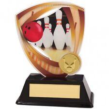 Ten Pin Bowling Trophy-Award, Trophies * Free Luxury ENGRAVING * ac18513