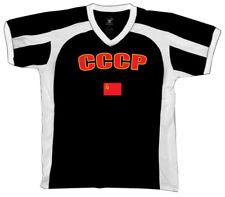 Union of Soviet Socialist Republics CCCP Flag Country Pride Retro Sport T-shirt