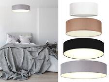 Elegante Deckenleuchte Stoffschirm rund fürs Wohnzimmer - Textil Deckenlampen