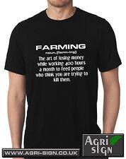 Funny Farming Farmer Tractor T Shirt Massey Claas Case Fendt - Farming noun