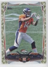 2014 Topps Military Camo #339 Cody Latimer Denver Broncos Rookie Football Card