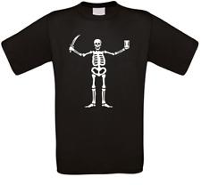 Black Vele Walrus Pirati Serie Cult T-Shirt Tutte Taglie Nuovo