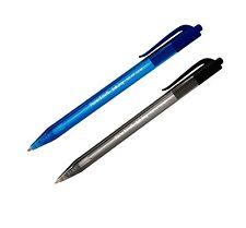 PAPER MATE - Lot de 20 stylos a bille rétractable 100 RT 1.0 mm