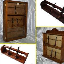 porta pipe vetrina espositore portapipe in radica rastrelliera in legno massello