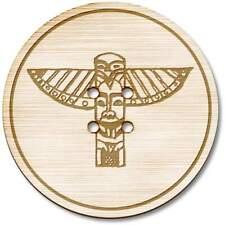 'Totem Pole' Wooden Buttons (BT005900)