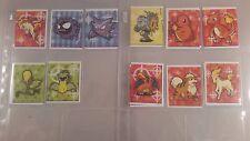 Pokemon 1999 Merlin Sticker Card