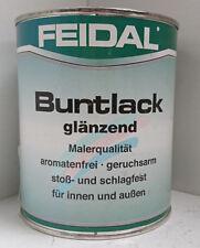 (36,00€/L) Feidal Maler Buntlack Bunt Lack glänzend 250ml