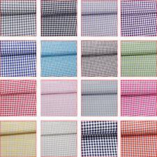 Beschichtete Baumwolle Karo 10mm Tischdecke 90% BW- Stoff 10% PVC abwaschbar